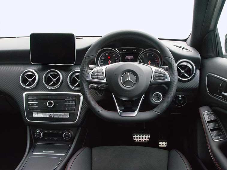Mercedes benz a class diesel hatchback a180d amg line 5dr for Mercedes benz financial lease address