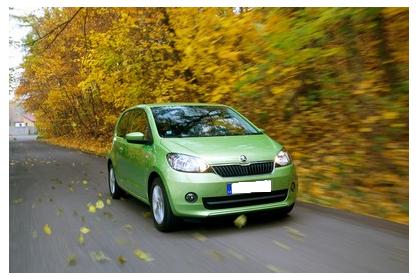 Image of The New Fuel Efficient SKODA Citigo