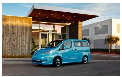 Image of Nissan e-NV200 Electric Van