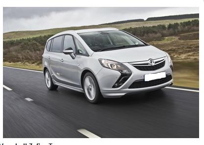 Image of Vauxhall's New Zafira Tourer Tech Line