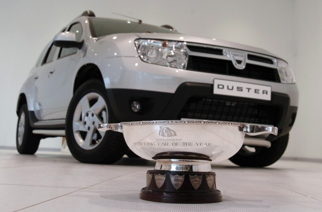 osv motoring news 2012 dacia duster scoops scottish honours. Black Bedroom Furniture Sets. Home Design Ideas