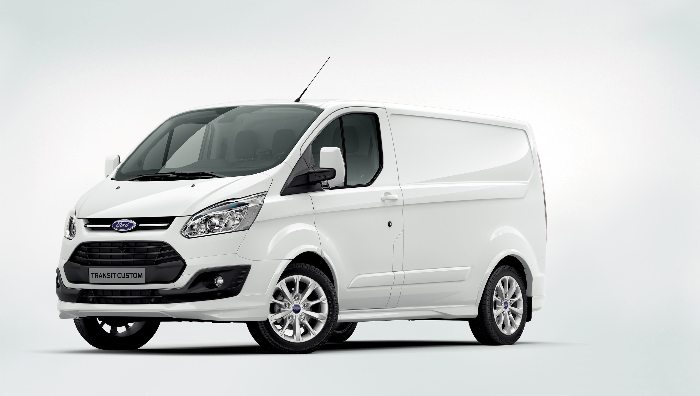 New Ford Transit Custom Van