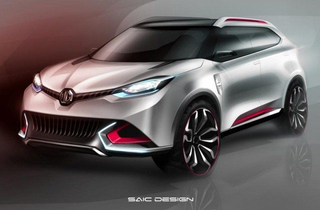 MG SUV Concept