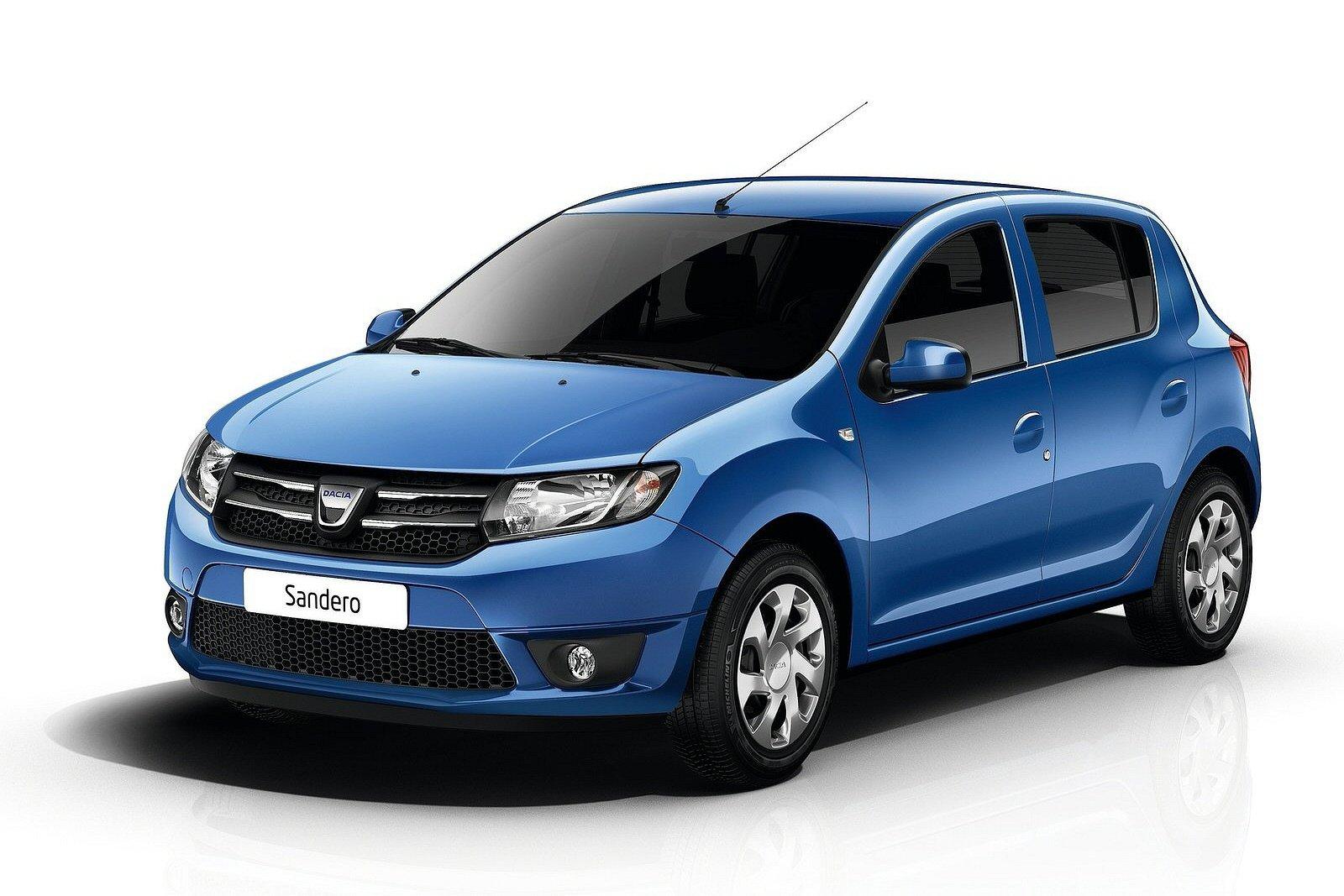 2014 Dacia Sandero Front View