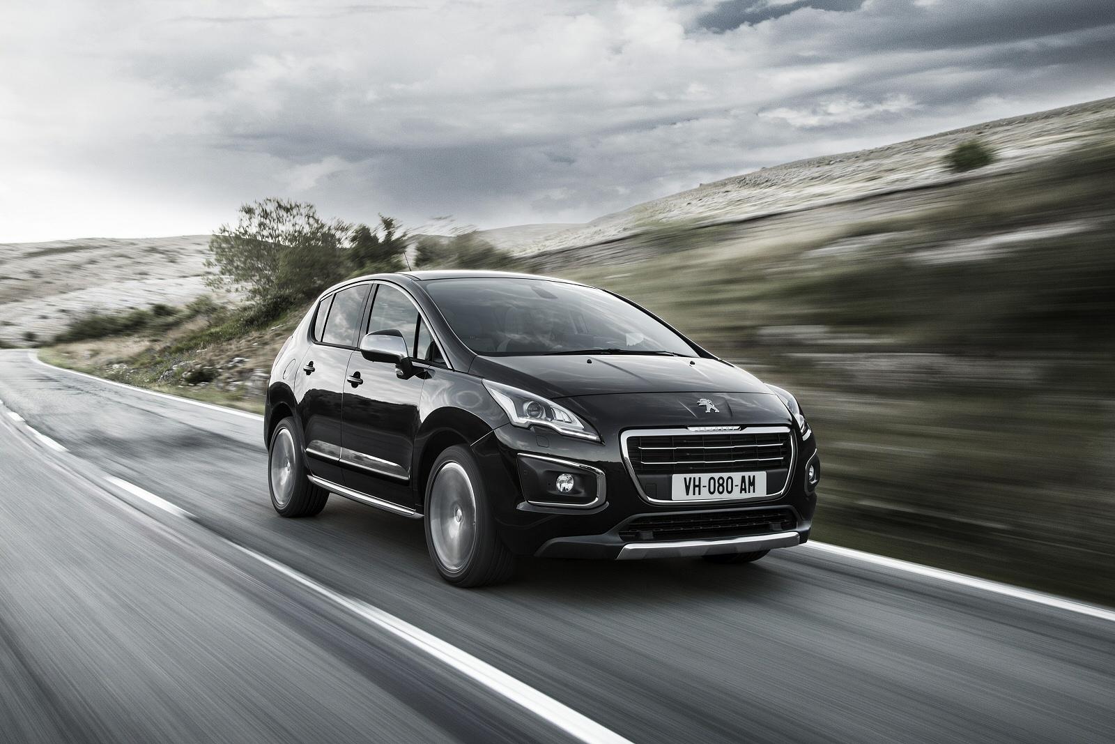 Front View 2014 Peugeot 3008
