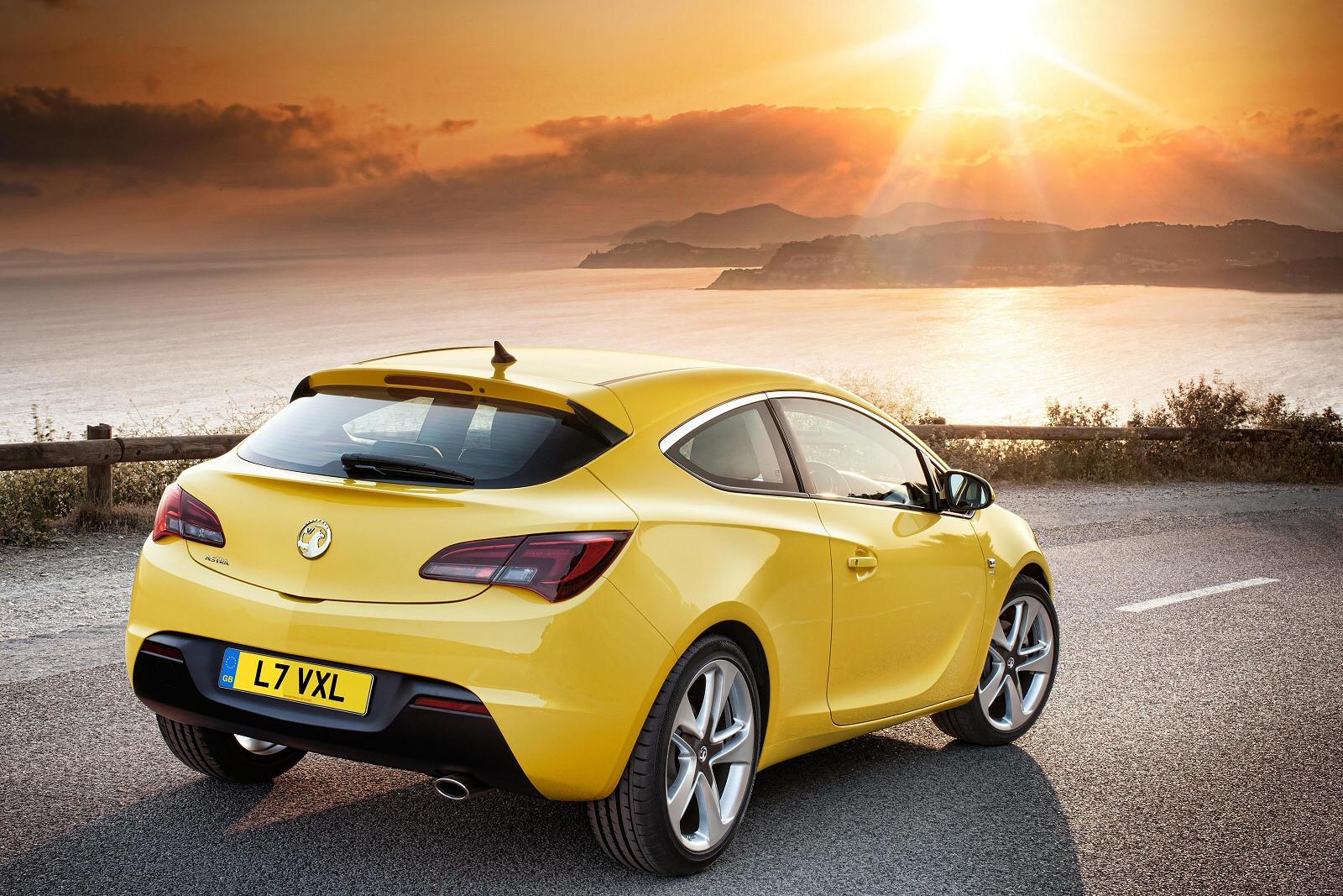 New Vauxhall Astra GTC