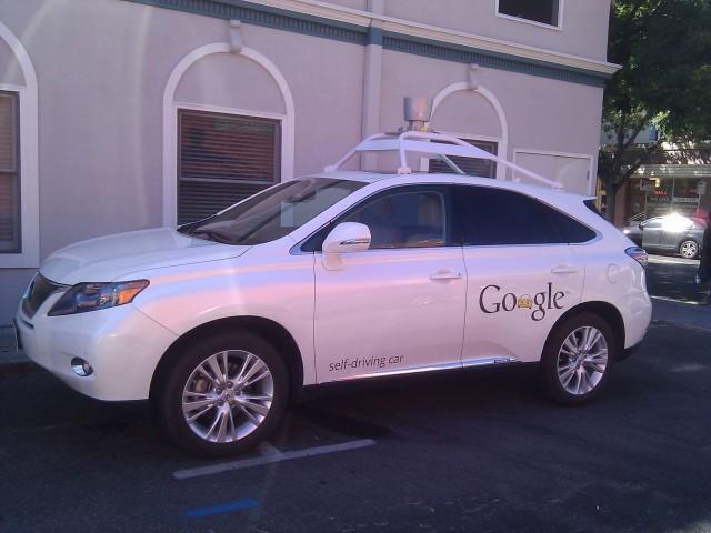 Google Self Drive Car, first self-driving car
