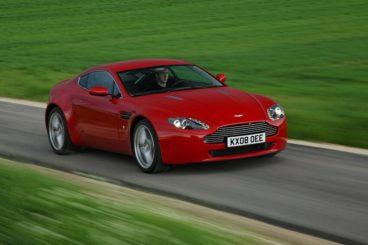 Aston Martin V8 Vantage front view