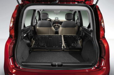 Fiat Panda boot space