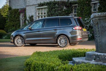 Ford Galaxy Estate side profile