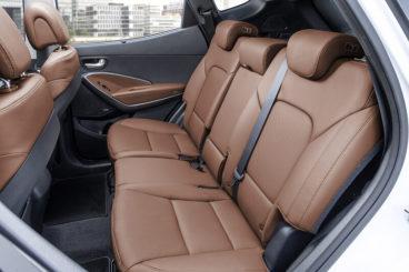 Hyundai Santa Fe Estate back seats