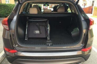 Hyundai Tucson Premium SE Boot space