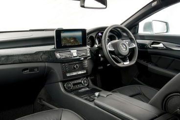 Mercedes CLS Class interior dashboard