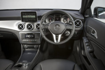 Mercedes GLA Class interior dashboard