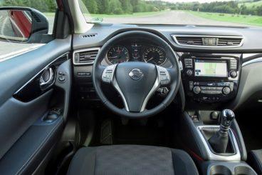 Nissan Qashqai hatchback interior
