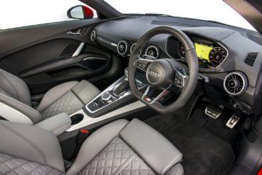 Audi TT Interior dashboard