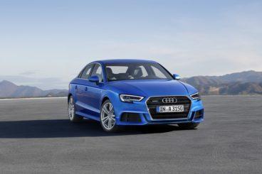 Audi A3 Sedan in blue