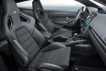 Volkswagen Scirocco R Line interior chairs