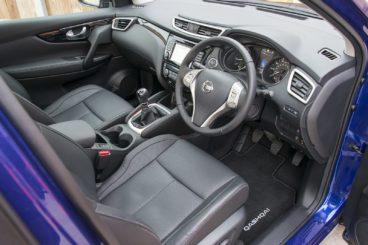 Nissan Qashqai Interior front view