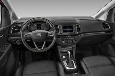 SEAT Alhambra MPV interior