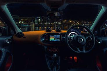 Smart Forfour interior dashboard