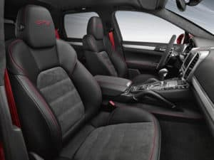 Porsche Cayenne Estate interior