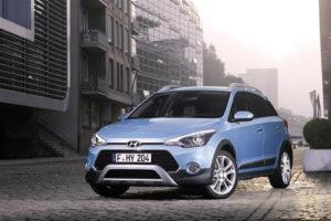 Hyundai i20 SUV Light blue