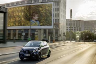 2017 smart forfour hatchback front