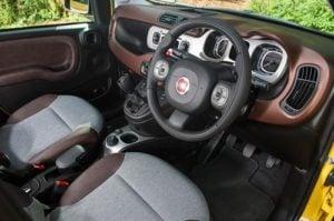 fiat panda hatchback interior