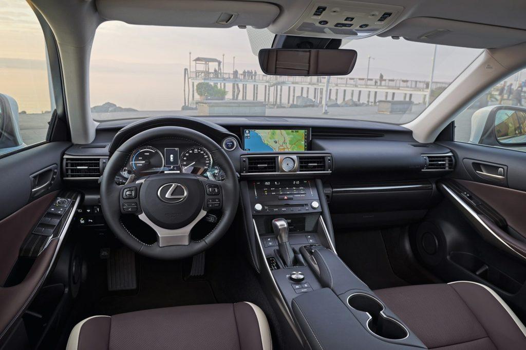 Lexus IS saloon interior
