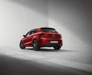Seat Ibiza hatchback rear view
