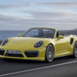 2017 Porsche 911 Convertible front