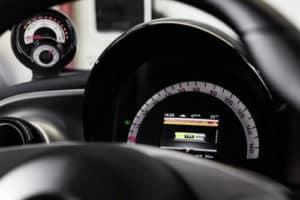 Smart ForFour Hatchback interior dashboard