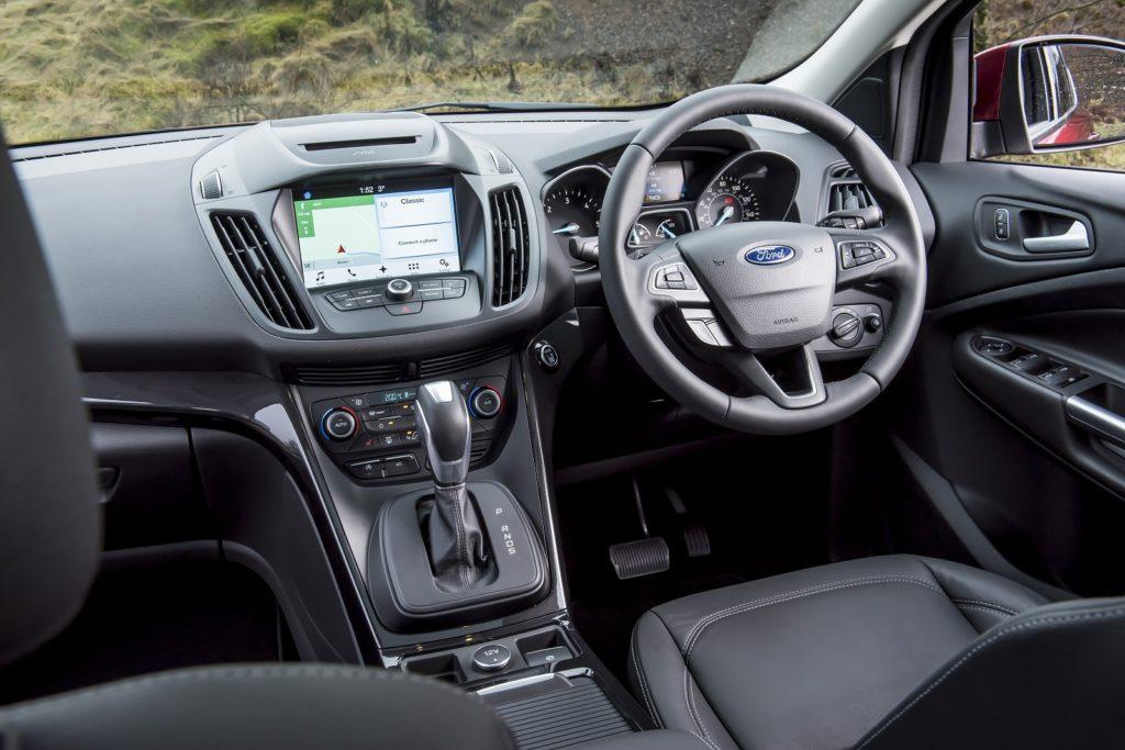 Ford Kuga St-line interior