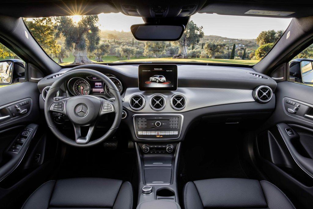 Mercedes GLA Class Interior