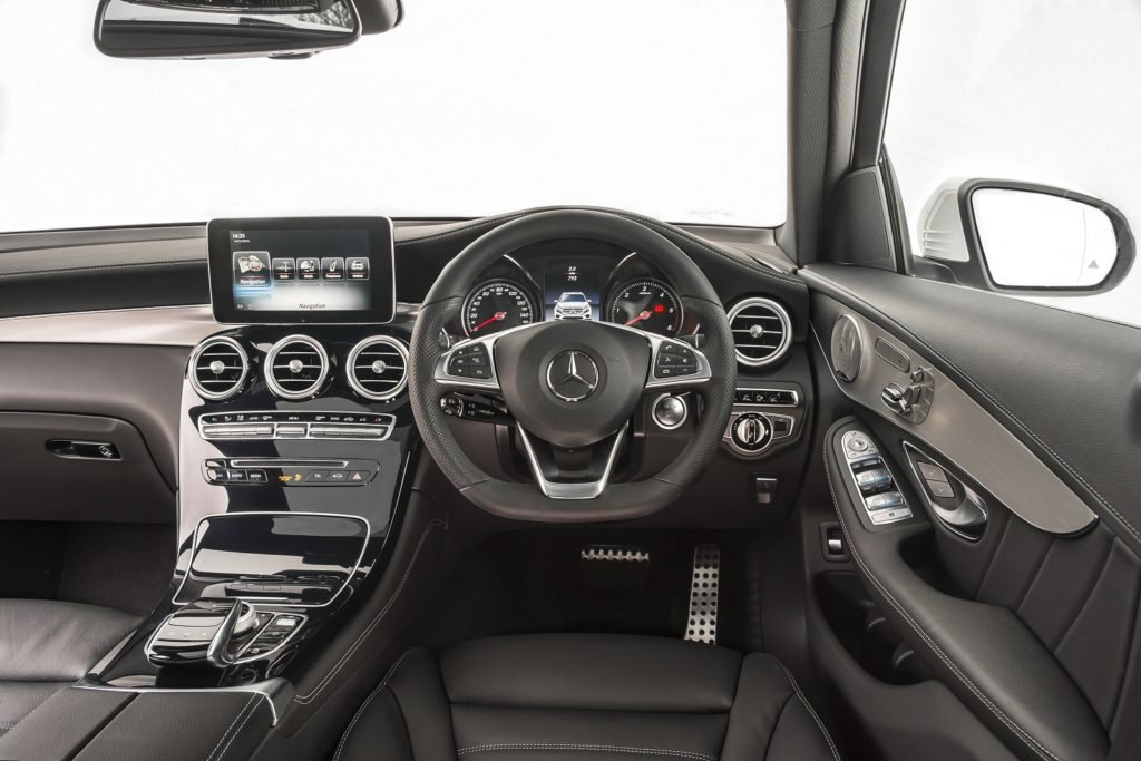 Mercedes GLC Estate Interior