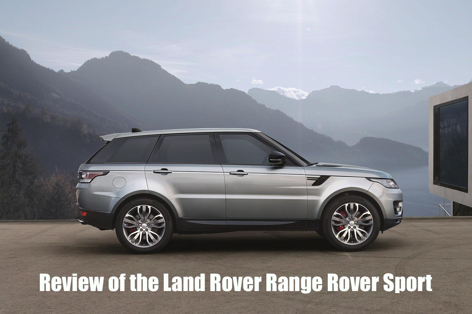 land rover range rover sport suv review osv. Black Bedroom Furniture Sets. Home Design Ideas