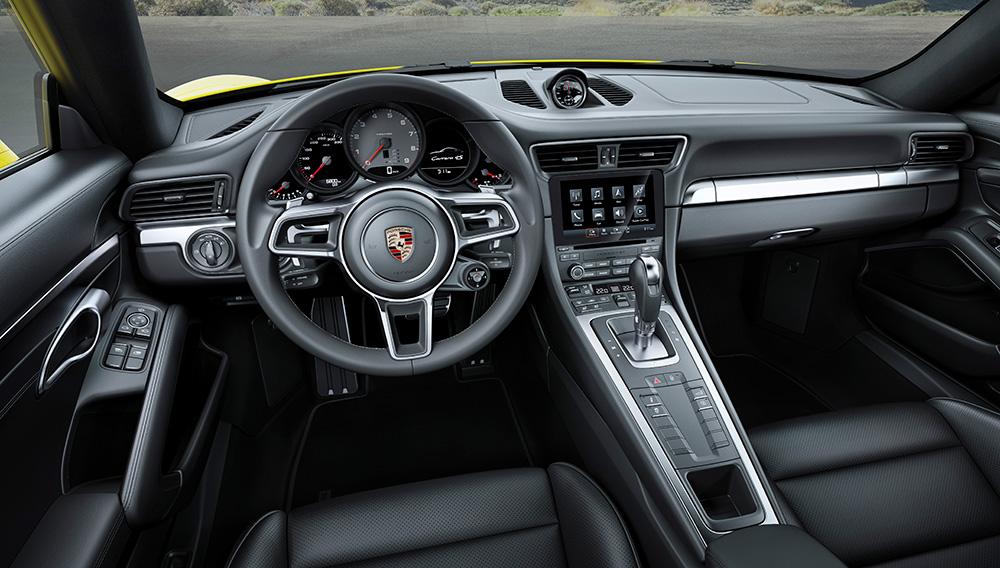 Porsche Targa Interior