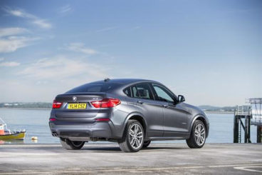 2017 BMW X4 Diesel SUV Coupe Rear