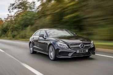 Mercedes-Benz CLS Class Coupe Black