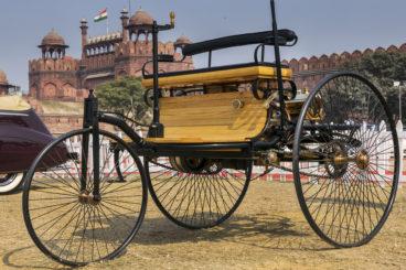 Benz Patent Motorwagen in New Dehli, India