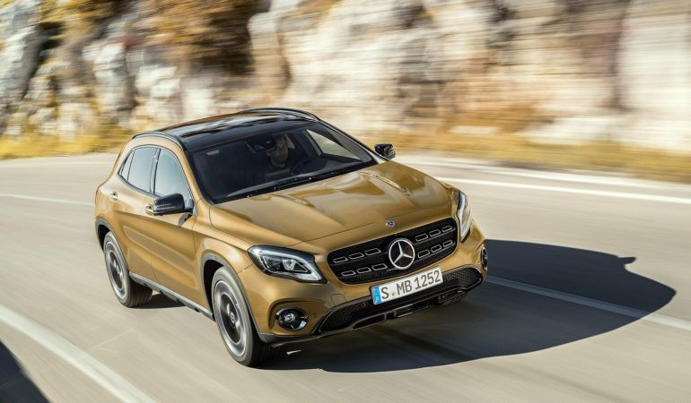 Mercedes-Benz GLA Class Hatchback vs Infiniti QX30 vs Range Rover Evoque Hatchback