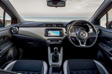 Nissan Micra Hatchback Diesel interior