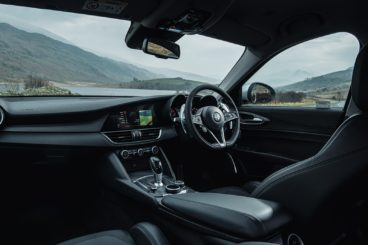 Alfa Romeo Giulia Diesel Saloon Interior