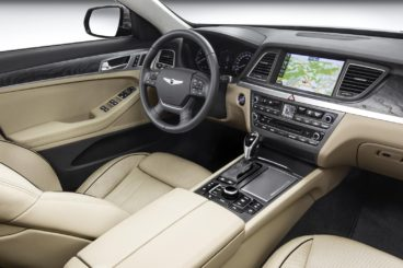 Hyundai Genesis Saloon Interior View