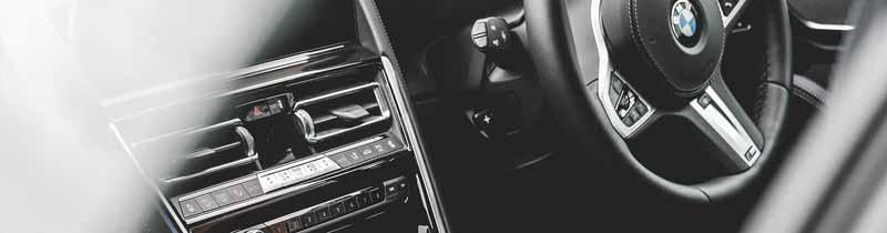 BMW 849d Interior