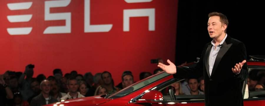 Elon Musk announces the Tesla Model 3